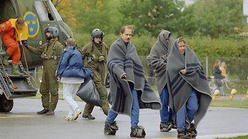 Estonia, turma, pelastuneet