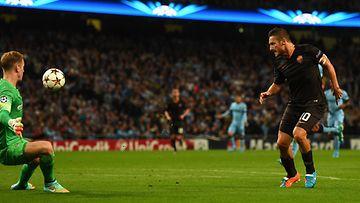 Totti teki historiaa Champions Leaguessa