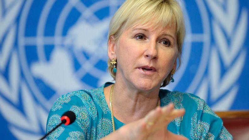 Margot Wallström ruotsi ulkoministeri eu komissaari