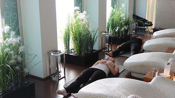 Mindfulness, rentoutuminen, Kämp Spa