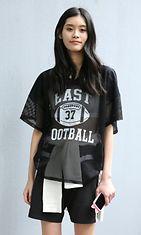 malli, baseball paita, trendi