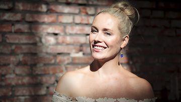 Anne Kukkohovi MTV3:n syksyn lifestyle-ohjelman tiedotustilaisuudessa Helsingissä keskiviikkona 20. elokuuta 2014.