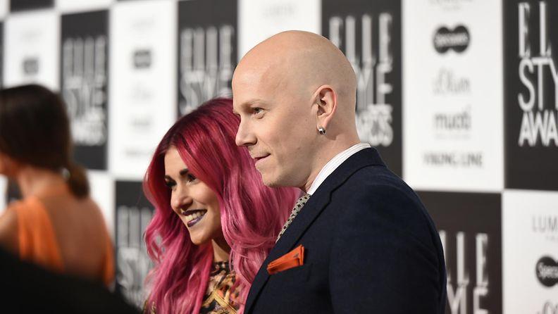 Wirtanen ja Jannika B Elle Style Awards