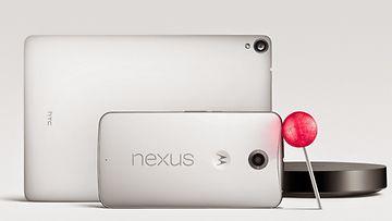 Nexus 9 -tabletti ja Nexus 6 -kännykkä käyttävät Googlen uutta Android Lollipop -käyttöjärjestelmäversiota.
