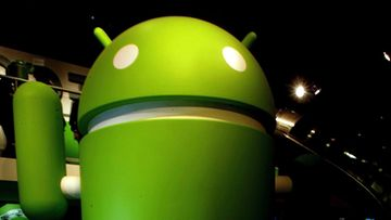 androGooglen Android-käyttöjärjestelmän logoid