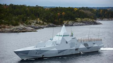 ruotsi tukholma sukellusvenejahti tukholman saaristo venäjä korvetti