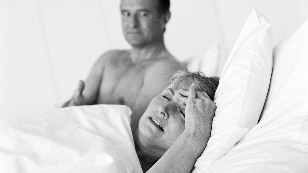 vaihdevuodet ja seksi eronnut nainen