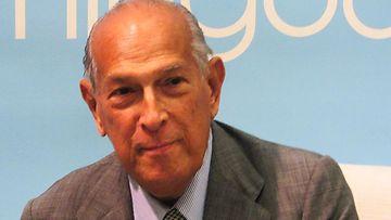 Oscar de la Renta edusti vielä syyskuussa 2014 New Yorkissa.