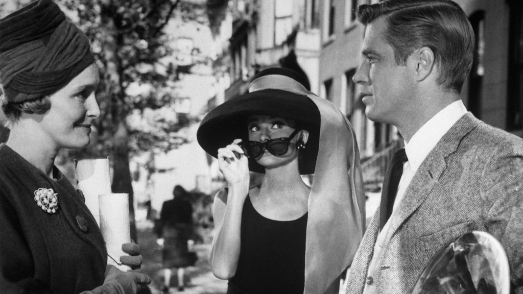 Audrey-Hepburn-and-George-Peppard-in-Breakfast-at-Tiffany's-1961