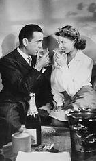 Humphrey-Bogart-ja-Ingrid-Bergman-Casablanca 1942