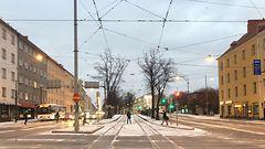 KUVAT: Maa paikoin valkeana Helsingiss� – varo liukkautta