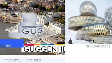 Outo yhteensattuma - MTV Uutiset ennakoi Guggenheim-kilpailuty�n