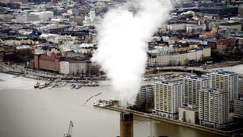 Helsinki päästöt