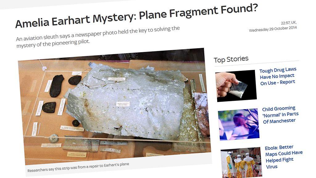 Amelia Earhart Löytynyt