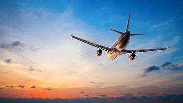 lentokone, matkustus