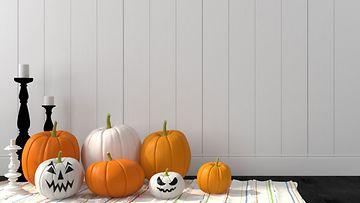 halloween koristelu