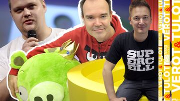 SuperCell Toni Fingerroos Angry Birds