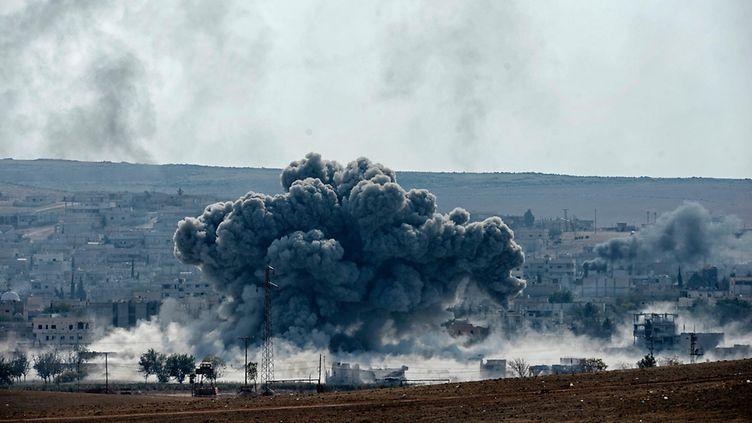 ISIS k�rsinyt raskaita tappioita Kobanessa