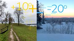 Ensi viikon ennuste: Etelässä jatkuu lauha syyssää, Lapissa täysi talvi