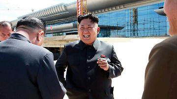 V��rin meni – uusi lentokentt� ei en�� naurata Kim Jong-unia