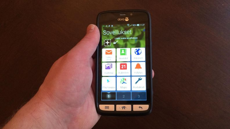 Doro Liberto 820 on helppokäyttöinen älypuhelin