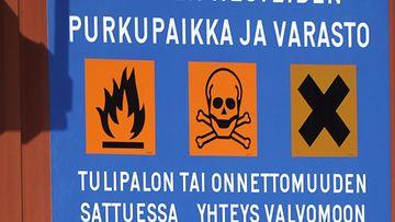 vanha varoitus