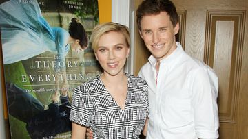 Scarlett Johansson ja Eddie Redmayne. (2)