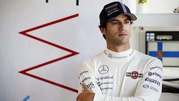 Felipe Nasr USA:n GP:n harjoituksissa.