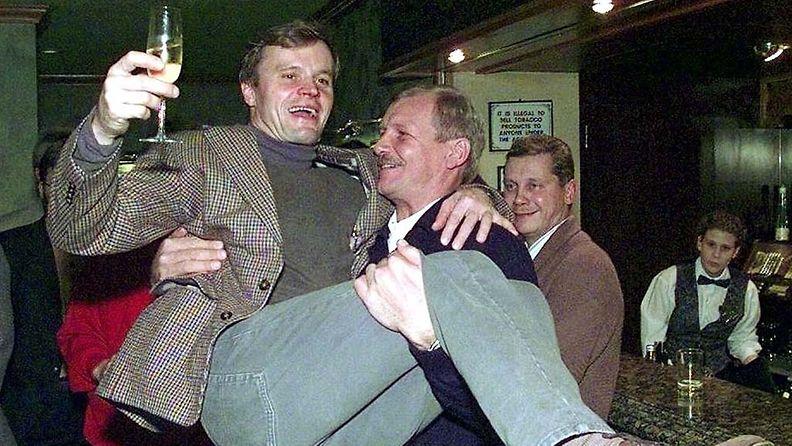 Tommi Mäkinen ja Juha Kankkunen 1997