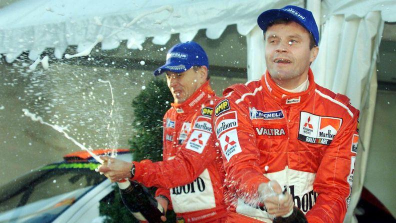 Tommi Mäkinen, 2001