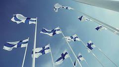 Nyt se on varmaa: Itsenäisyyspäivänä taivas on sininen ja valkoinen