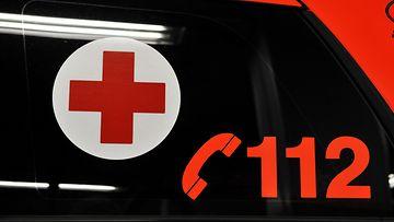 ambulanssi poliisi hätänumero rikos onnettomuus 112