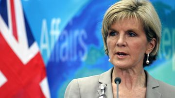 australia ulkoministeri julie bishop