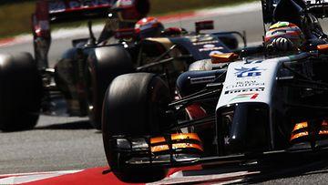 Force India, Lotus, 2014