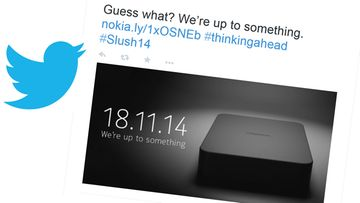 Nokia slush twitter we're up to something