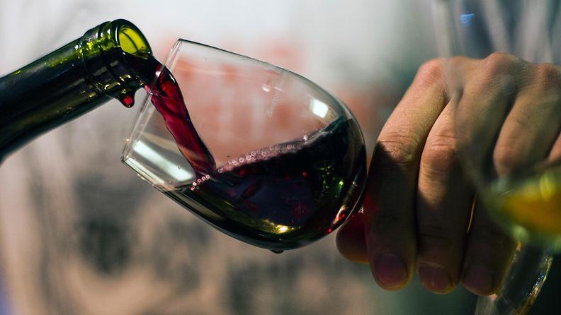 Viini beaujolais nouveau