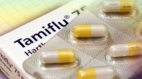 Tamiflu-influenssalääke. Kuva: AP Graphics Bank