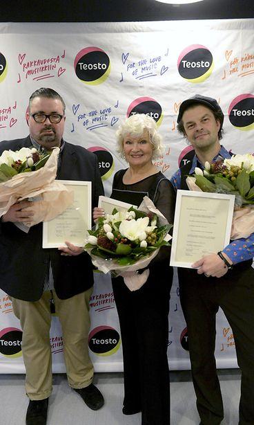 KUVAT: Muusikko Tuure Kilpeläiselle 4000 euron palkinto - Viihde - MTV.fi