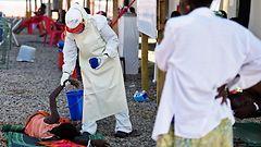 Ebolatapauksia jo lähes 16 000