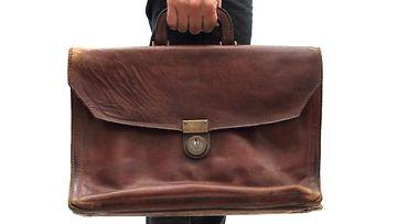 vanha käsilaukku
