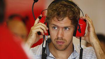 Sebastian Vettel, Ferrari, Formula 1