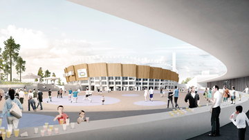Olympiastadion havainnekuva