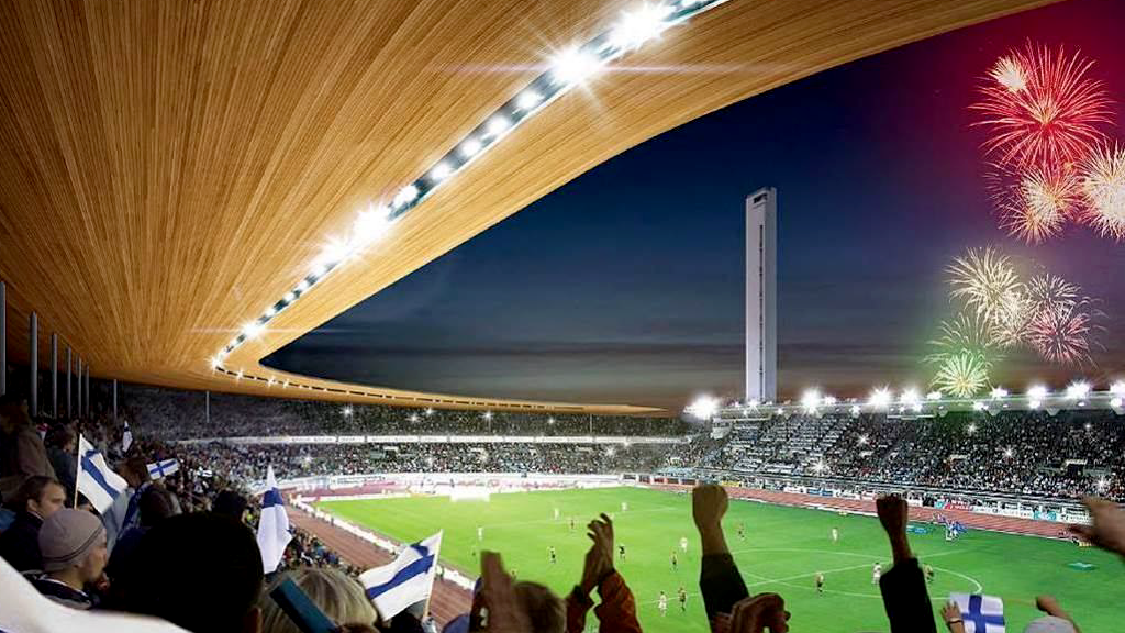 Helsingin Olympiastadion Remontti
