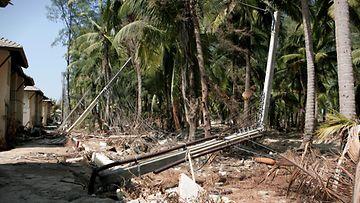 Sauli Niinistö tsunami sähköpylväs Thaimaa