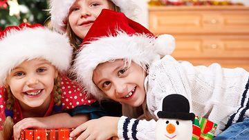 lapset, joululahjat, joulu