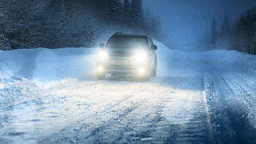 talvella ajaminen