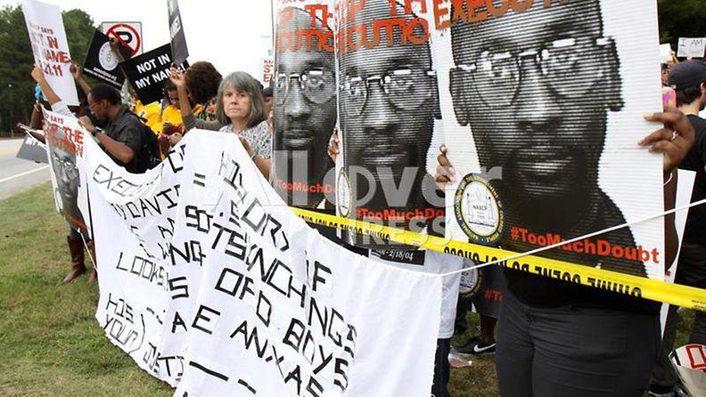 Troy Davis mielenosoitus