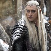 Thranduil-hahmoa tähdittää komea Lee Pace. Copyright: All Over Press. Photographer: TASS.