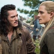 Luke Evans ja Orlando Bloom hurmaavat Hobitti-elokuvissa. Copyright: All Over Press. Photographer: TASS.