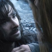 Aidan Turner Kíli-hahmona Hobitti-elokuvassa. Copyright: All Over Press. Photographer: TASS.
